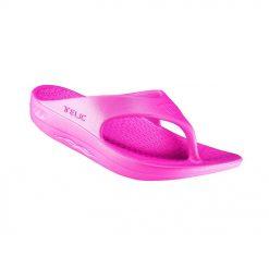 Telic Energy Flip Flops - Pink Flamingo
